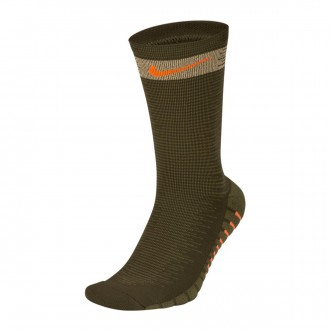 Calcetines  Nike Squad Cargo khaki-Medium olive-Total orange