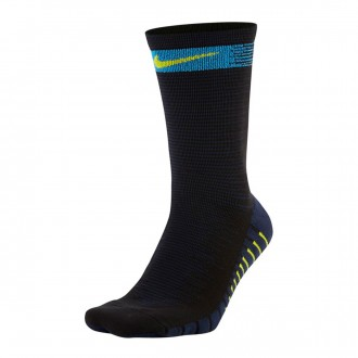 Calcetines  Nike Squad Black-Deep royal blue-Bright cactus