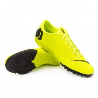 Football Boot  Nike Mercurial VaporX XII Academy Turf Volt-Black