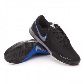 Zapatilla  Nike Phantom Vision Academy IC Black-Metallic silver-Racer blue