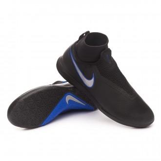 Zapatilla  Nike React Phantom Vision Pro DF IC Black-Metallic silver-Racer blue