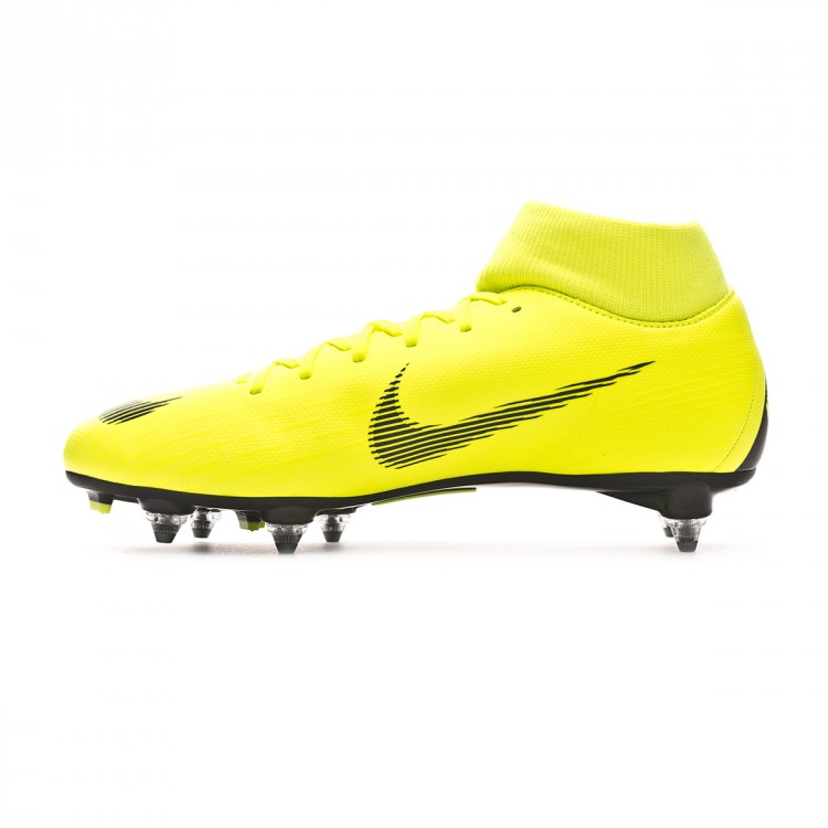 48a50361d Football Boots Nike Mercurial Superfly VI Academy SG-Pro Volt-Black ...