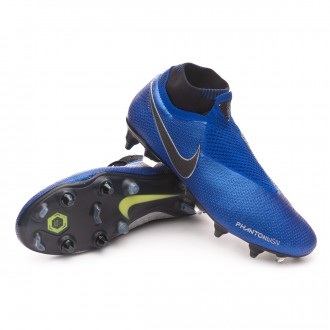 Boot  Nike Phantom Vision Elite DF ACC Anti-Clog SG-Pro Racer blue-Black-Metallic silver-Volt