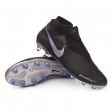 Bota Phantom Vision Pro DF AG-Pro Black-Metallic silver-Racer blue