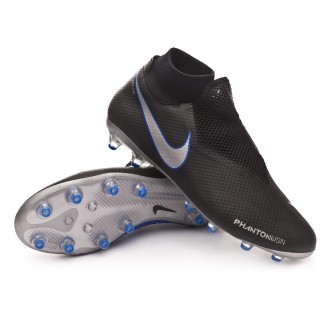 Boot  Nike Phantom Vision Pro DF AG-Pro Black-Metallic silver-Racer blue