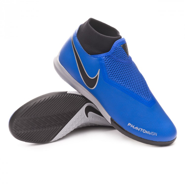 3ae9256b76d Futsal Boot Nike Phantom Vision Academy DF IC Racer blue-Black ...