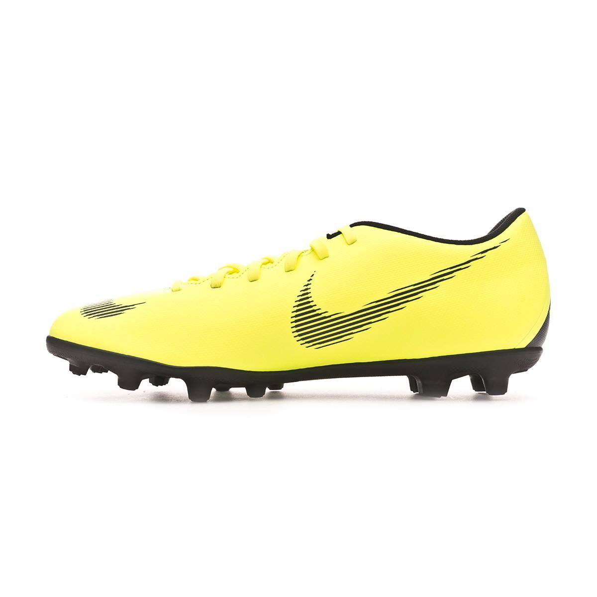 e2511135586d6 Bota de fútbol Nike Mercurial Vapor XII Club MG Volt-Black - Tienda de fútbol  Fútbol Emotion