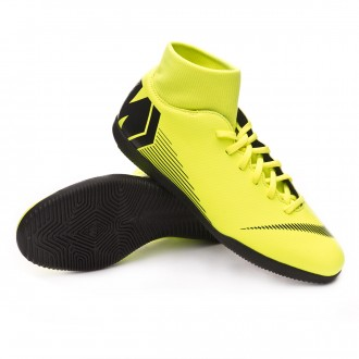 Zapatilla  Nike Mercurial SuperflyX VI Club IC Volt-Black