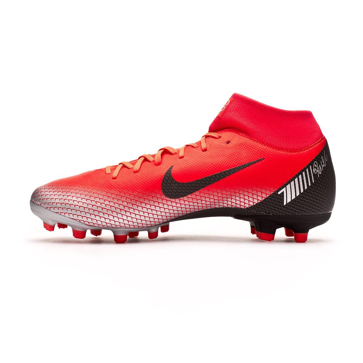 ea7a3659a867 Football Boots Nike Mercurial Superfly VI Academy CR7 MG Bright  crimson-Black-Chrome-Dark grey - Football store Fútbol Emotion