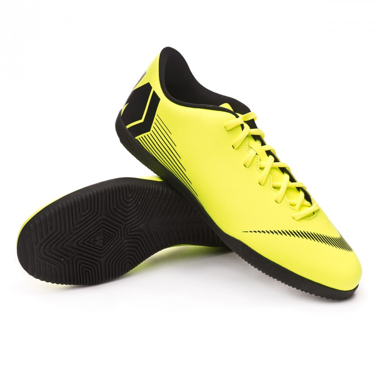 bd0f3cb02585 Futsal Boot Nike Mercurial VaporX XII Club IC Volt-Black - Football ...