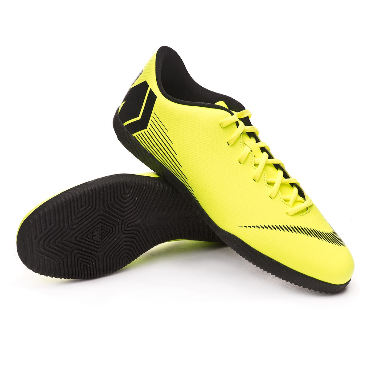 8efedb72bd5 Futsal Boot Nike Mercurial VaporX XII Club IC Volt-Black - Football store  Fútbol Emotion