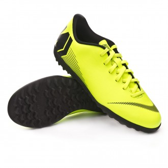 Zapatilla  Nike Mercurial VaporX XII Club Turf Volt-Black