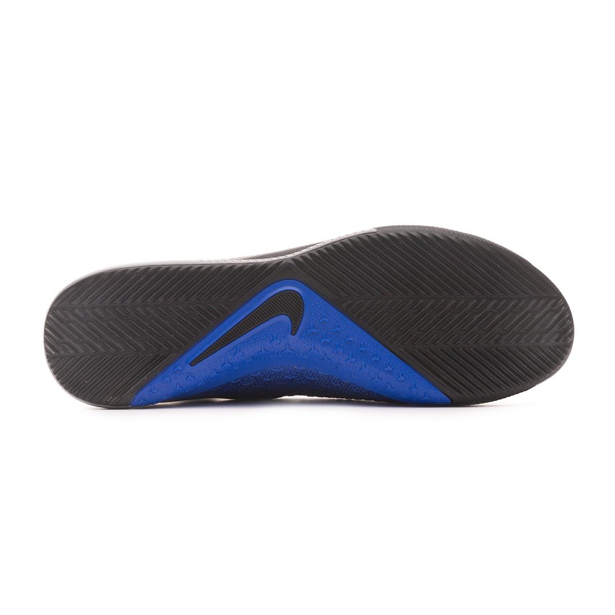 20f339898eb Futsal Boot Nike Phantom Vision Academy DF IC Black-Metallic silver-Racer  blue - Football store Fútbol Emotion