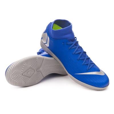 4788fb93f Futsal Boot Nike Mercurial SuperflyX VI Academy IC Racer blue-Metallic  silver-Black-Volt - Tienda de fútbol Fútbol Emotion
