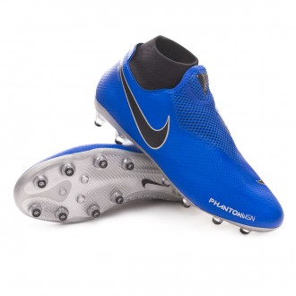 Bota  Nike Phantom Vision Pro DF AG-Pro Racer blue-Black-Metallic silver-Volt