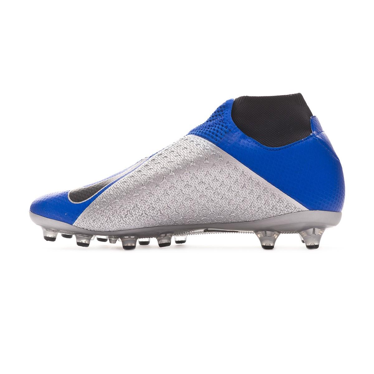 release date: ca923 c9572 Scarpe Nike Phantom Vision Pro DF AG-Pro Racer blue-Black-Metallic  silver-Volt - Negozio di calcio Fútbol Emotion