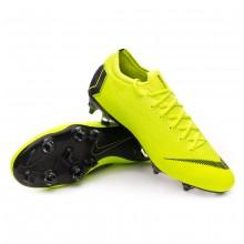 Football Boots Mercurial Vapor XII Elite Anti-Clog SG-Pro Volt-Black