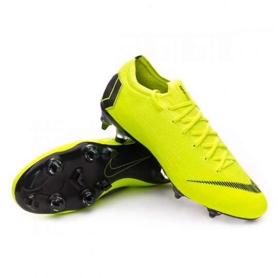 Chaussure de foot Nike Mercurial Vapor XII Elite SG Pro Anti Clog Volt Black