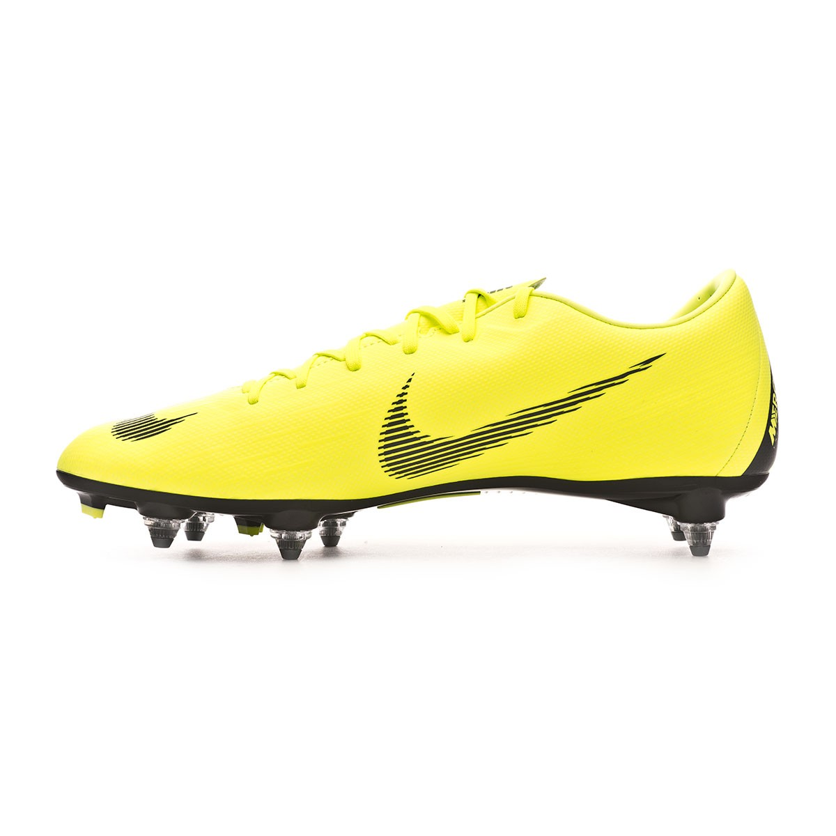 bd5e8066a44f Football Boots Nike Mercurial Vapor XII Academy SG-Pro Volt-Black - Tienda  de fútbol Fútbol Emotion
