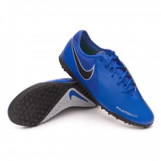 Football Boot  Nike Phantom Vision Academy Turf Racer blue-Black-Metallic silver-Volt