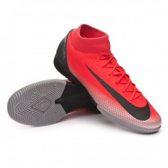 Futsal Boot  Nike Mercurial SuperflyX VI Academy CR7 IC Bright crimson-Black-Chrome-Dark grey