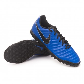 Football Boot  Nike Tiempo LegendX VII Club Turf Racer blue-Black-Wolf grey
