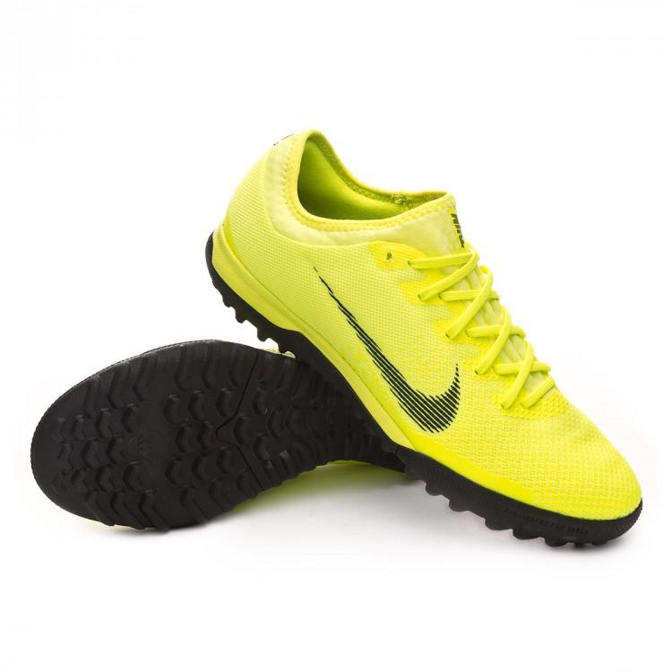 c2b4674fc Football Boot Nike Mercurial VaporX XII Pro Turf Volt-Black - Tienda ...