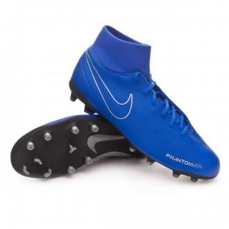 Bota  Nike Phantom Vision Club DF FG/MG Racer blue-Black
