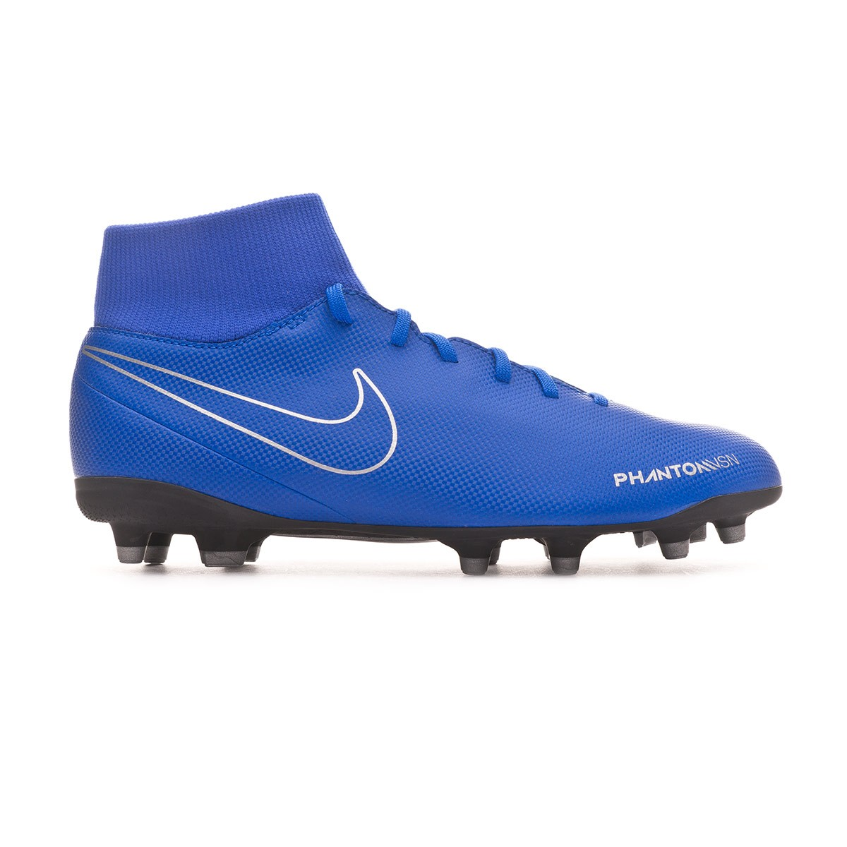 4ba7018e3f619 Football Boots Nike Phantom Vision Club DF FG MG Racer blue-Black - Tienda  de fútbol Fútbol Emotion