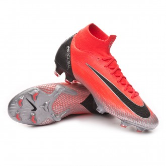2c4fc4ac9046e Mercurial Superfly VI Elite CR7 FG Flash crimson-Black-Total crimson