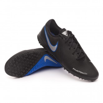 Zapatilla  Nike Phantom Vision Academy Turf Black-Metallic silver-Racer blue