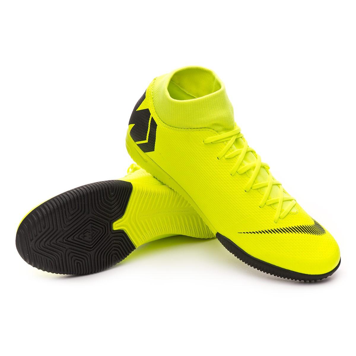 Chaussure de futsal Nike Mercurial SuperflyX VI Academy IC Volt ...