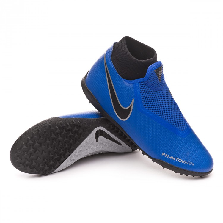 dbbf15ae5 Football Boot Nike Phantom Vision Academy DF Turf Racer blue-Black ...
