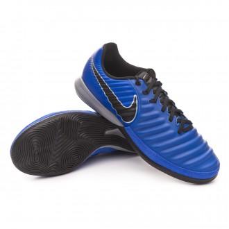 Zapatilla  Nike Tiempo Lunar LegendX VII Pro IC Racer blue-Black-Metallic silver