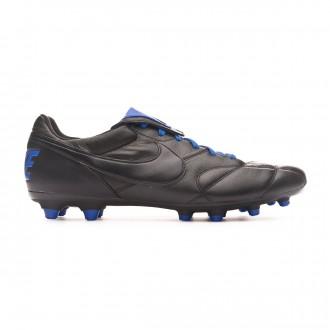 Chuteira Nike Tiempo Premier II FG Black-Racer blue