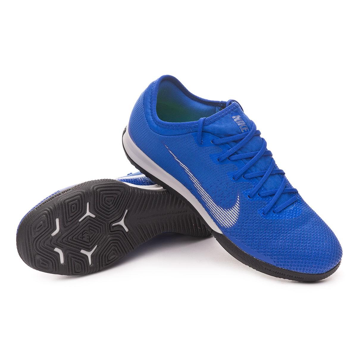 63db006fe Futsal Boot Nike Mercurial VaporX XII Pro IC Racer blue-Matallic ...