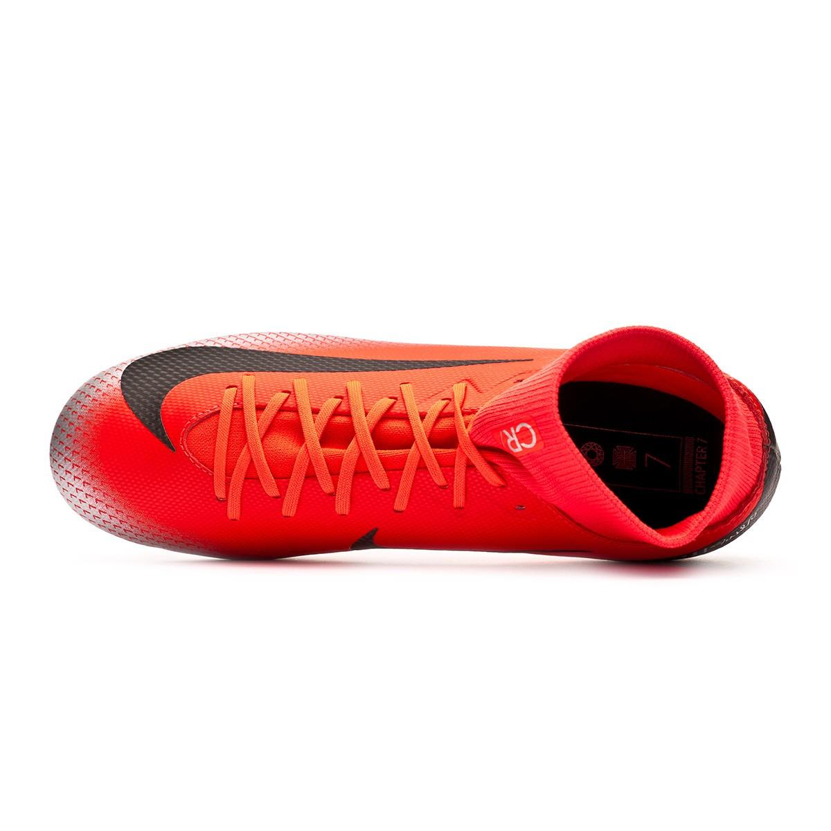 818a352e778 Zapatos de fútbol Nike Mercurial Superfly VI Academy CR7 SG-Pro Bright  crimson-Black-Chrome-Dark grey - Tienda de fútbol Fútbol Emotion