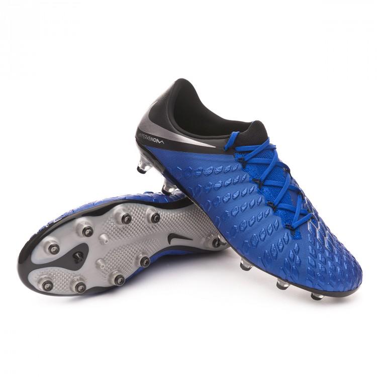 Boot Nike Hypervenom Phantom III Elite AG-Pro Racer blue-Metallic ... 235607148