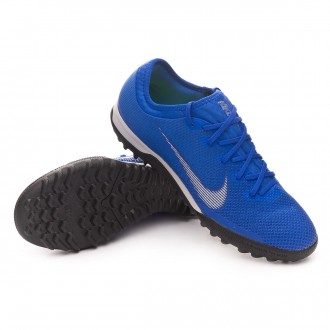 Football Boot  Nike Mercurial VaporX XII Pro Turf Racer blue-Matallic silver-Black