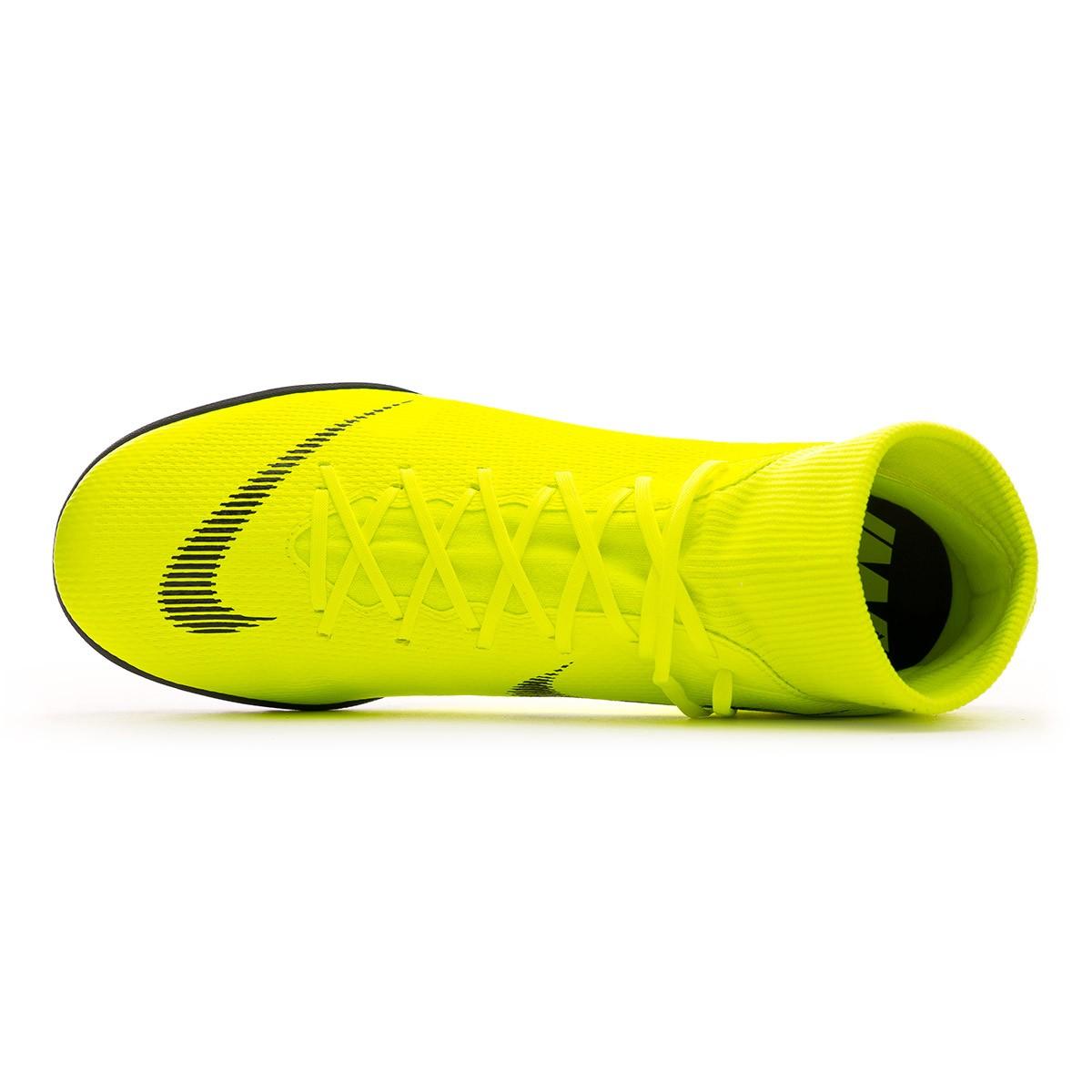 d6bd5da1444 Football Boot Nike Mercurial SuperflyX VI Academy Turf Volt-Black - Tienda  de fútbol Fútbol Emotion