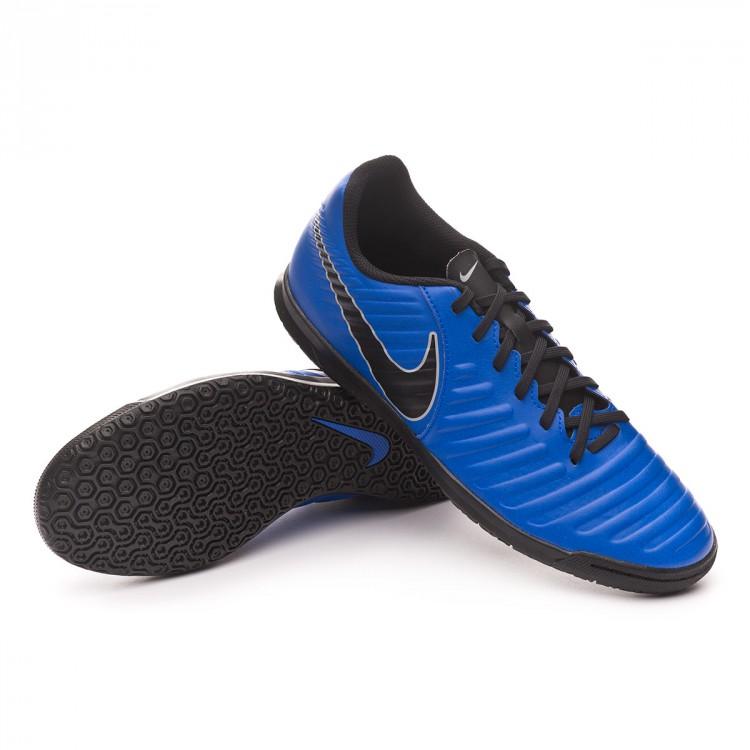 Futsal Boot Nike Tiempo LegendX VII Club IC Racer blue-Black-Wolf ... 772f6d796fa5d