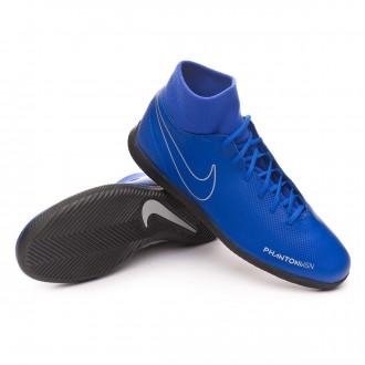 Zapatilla  Nike Phantom Vision Club DF IC Racer blue-Black-Metallic silver-Volt