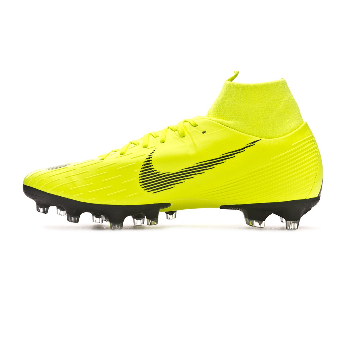 010be5456e02 Football Boots Nike Mercurial Superfly VI Pro AG-Pro Volt-Black - Tienda de  fútbol Fútbol Emotion