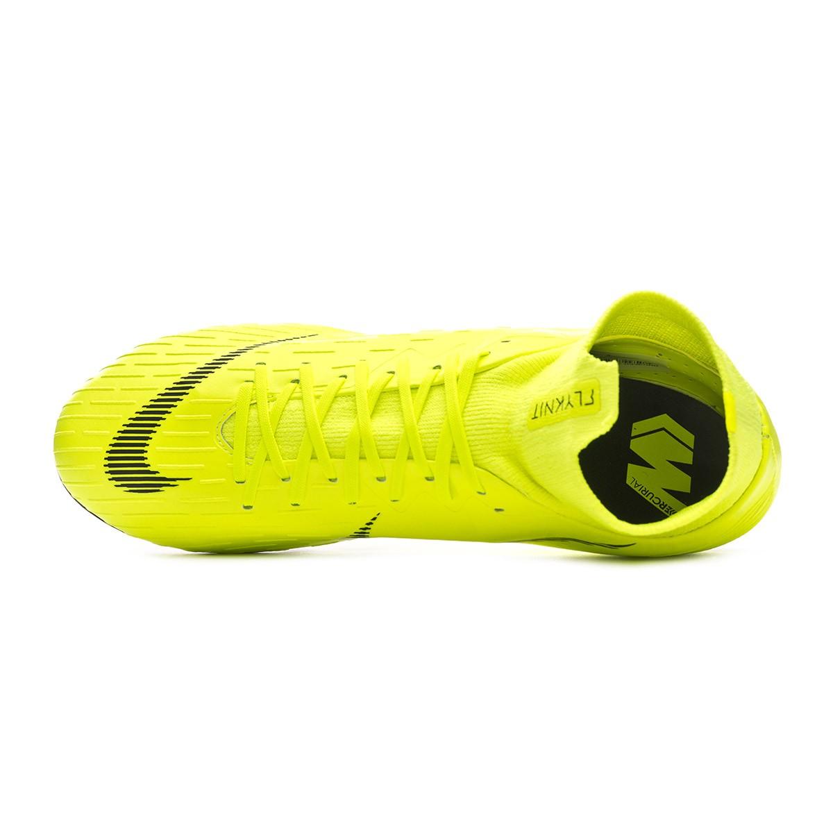 d0ab755d468 Football Boots Nike Mercurial Superfly VI Pro AG-Pro Volt-Black - Football  store Fútbol Emotion