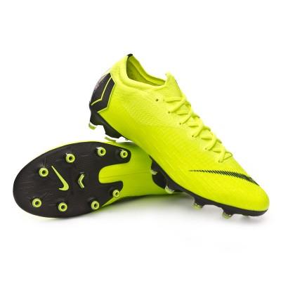cea8de1205baa Football Boots Nike Mercurial Vapor XII Elite AG-Pro Volt-Black - Tienda de  fútbol Fútbol Emotion