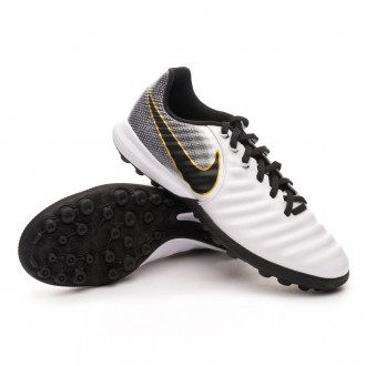 Football Boot  Nike Tiempo Lunar LegendX VII Pro Turf White-Black