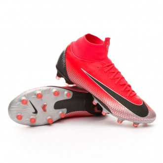 Bota  Nike Mercurial Superfly VI Pro CR7 AG-Pro Bright crimson-Black-Chrome-Dark grey
