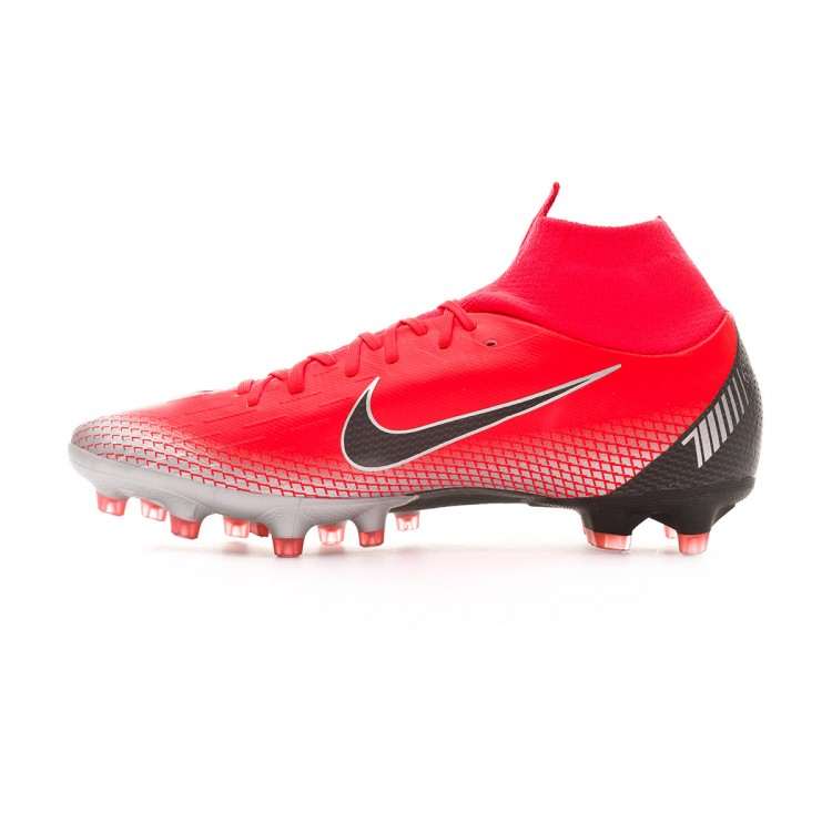 Nike Mercurial Superfly VI Academy CR7 IC Bright CrimsonBlackChromeDark Grey
