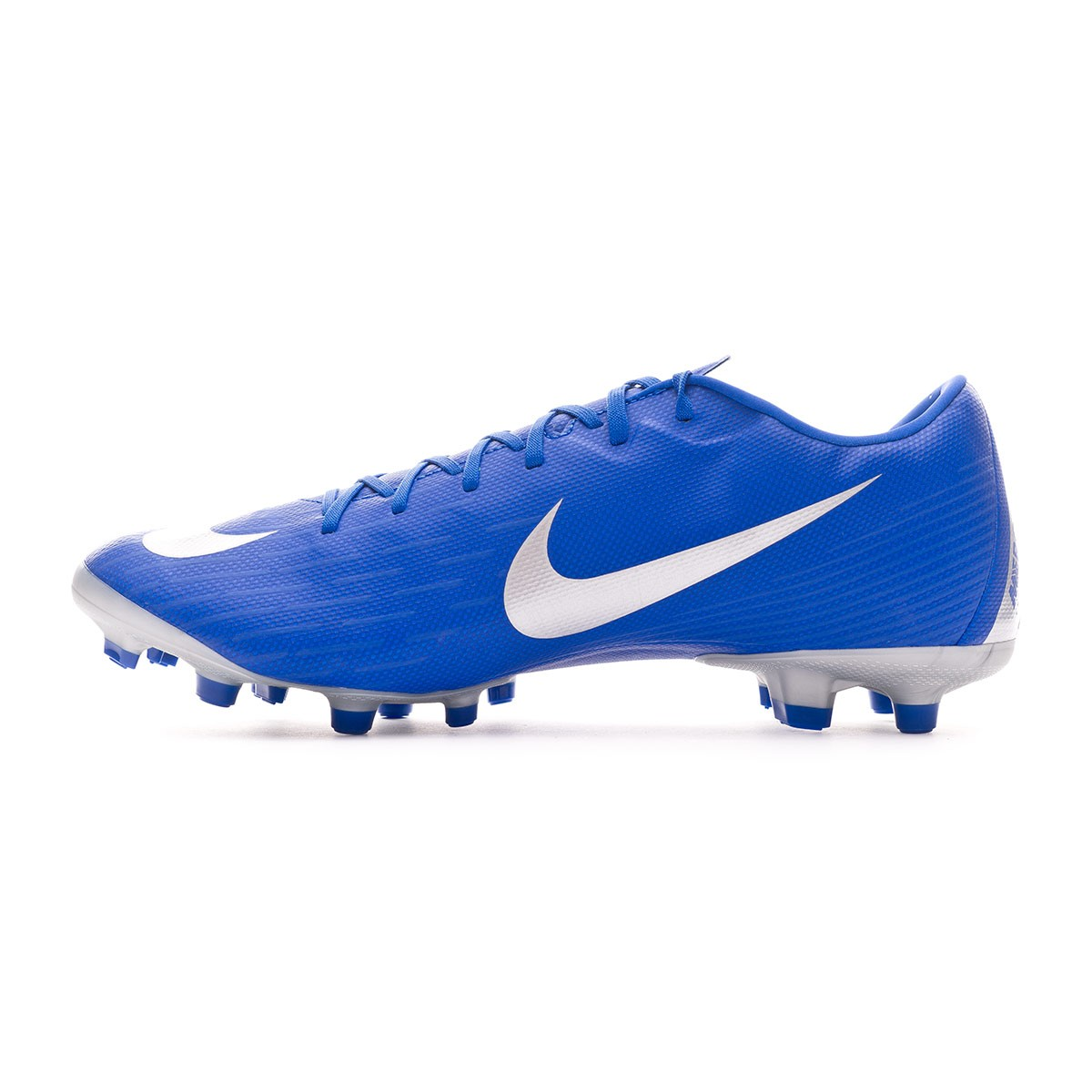 464e1f72f1d Football Boots Nike Mercurial Vapor XII Academy MG Racer blue-Metallic  silver-Black-Volt - Nike Mercurial Superfly