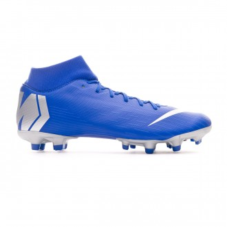Bota  Nike Mercurial Superfly VI Academy MG Racer blue-Metallic silver-Black-Volt